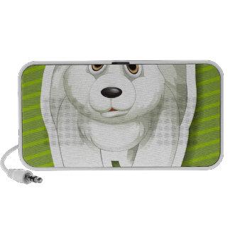 Oso polar iPod altavoces