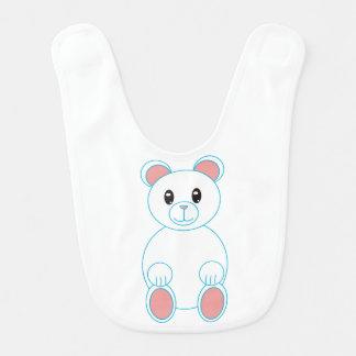 Oso polar babero