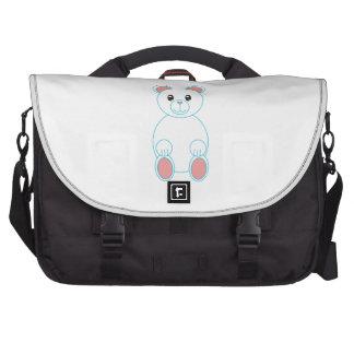Oso polar bolsa de ordenador