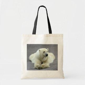 Oso polar bolsa tela barata