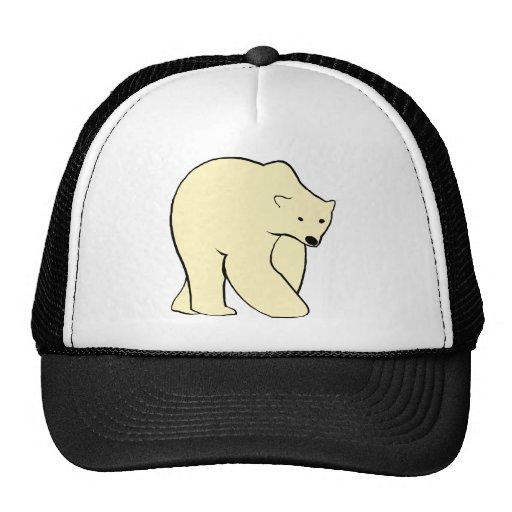 Oso polar - color crema gorra