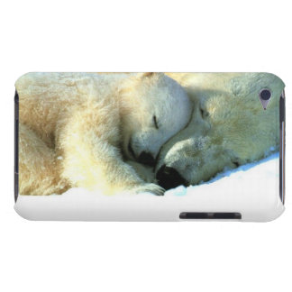 Oso polar con de Cub iPod del tacto de la casamata Barely There iPod Funda