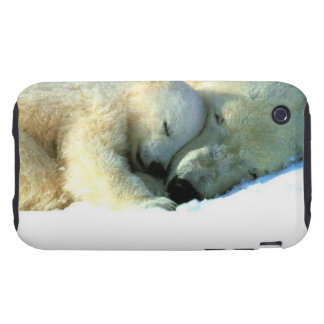 Oso polar con la casamata del iPhone 3G/3GS de Cub Tough iPhone 3 Cobertura