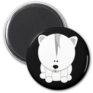 Oso polar Cub Imán Redondo 5 Cm