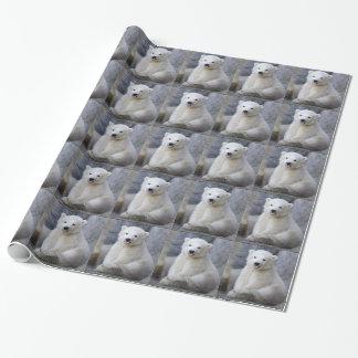 Oso polar Cub Papel De Regalo