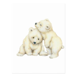Oso polar Cubs Postales