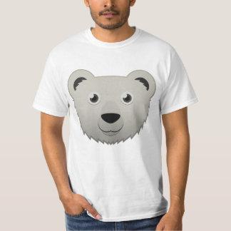Oso polar de papel camisas