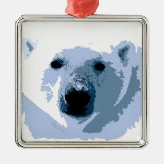 Oso polar ornamentos de reyes