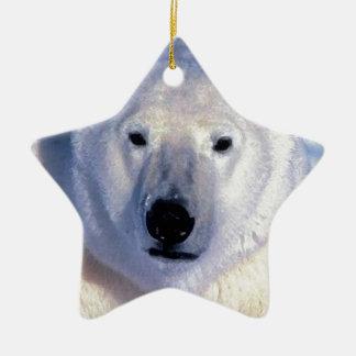 Oso polar adorno de navidad