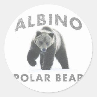 oso polar del albino pegatina