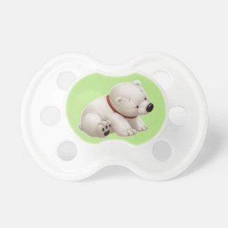 Oso polar del bebé de Сharming (pacificador de la  Chupete