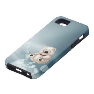 Oso polar del bebé iPhone 5 carcasa
