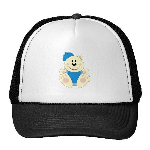 Oso polar del béisbol del bebé de Cutelyn Gorras