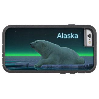 Oso polar del borde del hielo funda de iPhone 6 tough xtreme