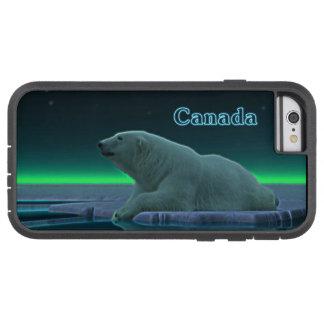 Oso polar del borde del hielo funda para  iPhone 6 tough xtreme