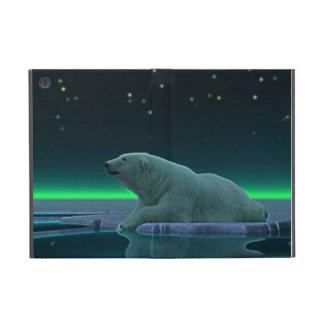 Oso polar del borde del hielo iPad mini fundas