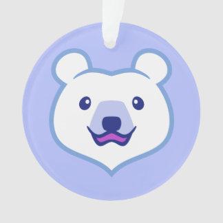 Oso polar del dibujo animado minimalista lindo