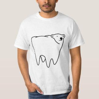 Oso polar del diente del oso molar polera