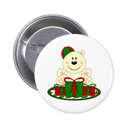 Oso polar del regalo de Navidad de Cutelyn Pin