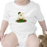 Oso polar del regalo de Navidad de Cutelyn Traje De Bebé