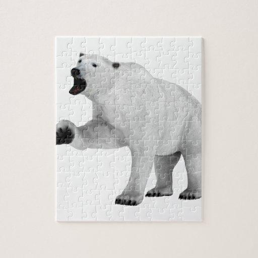 Oso polar del rugido puzzle