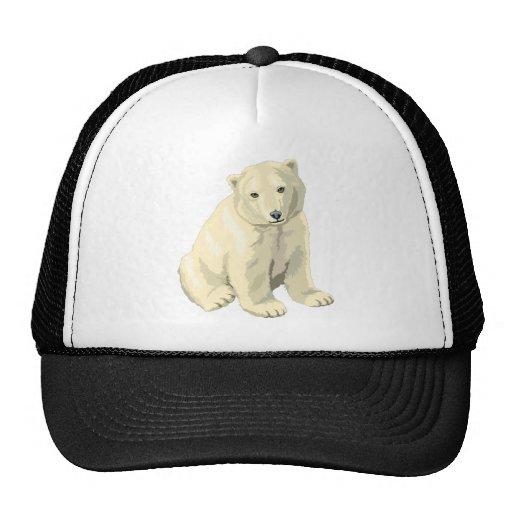 Oso polar gorra