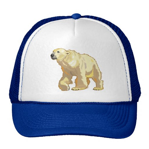 oso polar gorro de camionero
