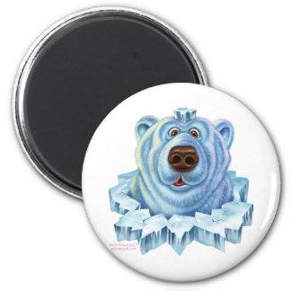 oso polar imán de frigorífico