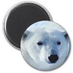 Oso polar imán de frigorifico