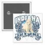 Oso polar Indiana Pins