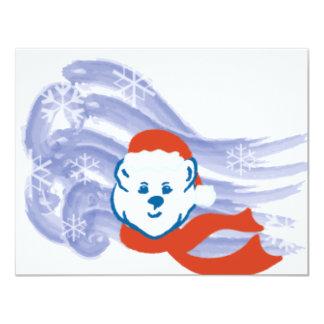 Oso polar anuncio personalizado