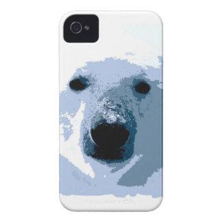 Oso polar iPhone 4 funda