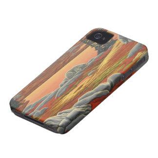 Oso polar IPhone 4 regalos del oso del arte de la Case-Mate iPhone 4 Coberturas