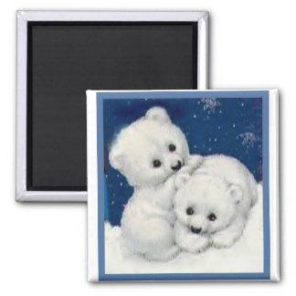 Oso polar lindo Cubs Imán