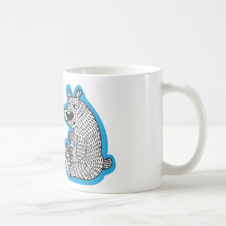 Oso polar lindo taza clásica