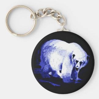 Oso polar llavero