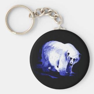 Oso polar llaveros personalizados