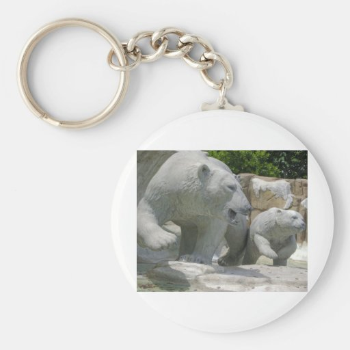 Oso polar llaveros