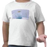 oso polar, maritimus del Ursus, en un gigante Camisetas