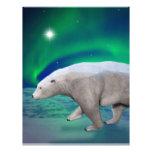 Oso polar membrete