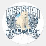 Oso polar Mississippi Etiquetas