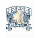 Oso polar Mississippi Tarjeta Postal