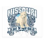 Oso polar Missouri Postal