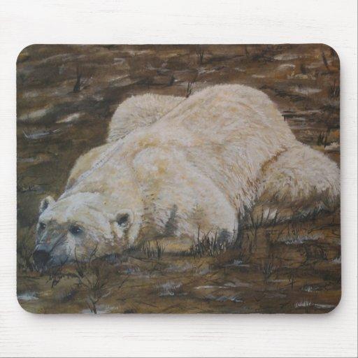Oso polar Mousepad Tapetes De Ratones