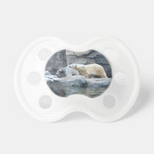 Oso polar: Nakita y Berlín Chupetes De Bebe