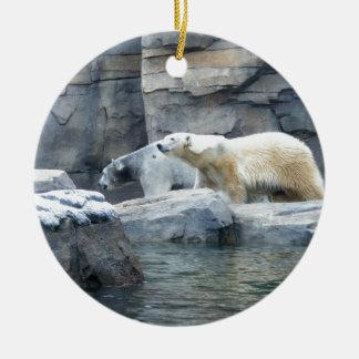 Oso polar: Nakita y Berlín Ornamentos De Reyes Magos