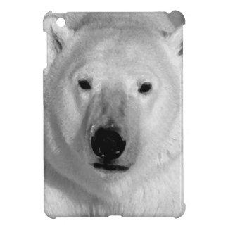 Oso polar negro y blanco iPad mini fundas