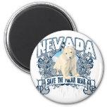 Oso polar Nevada Imán De Frigorifico
