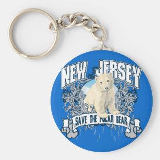 Oso polar New Jersey Llavero Personalizado