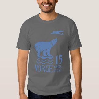 Oso polar noruego 1925 remera